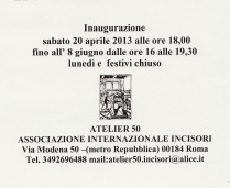 Gianna Regina Mazzoli Atelier 50
